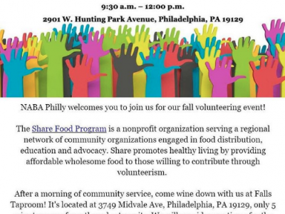 NABA Philadelphia Volunteer Day