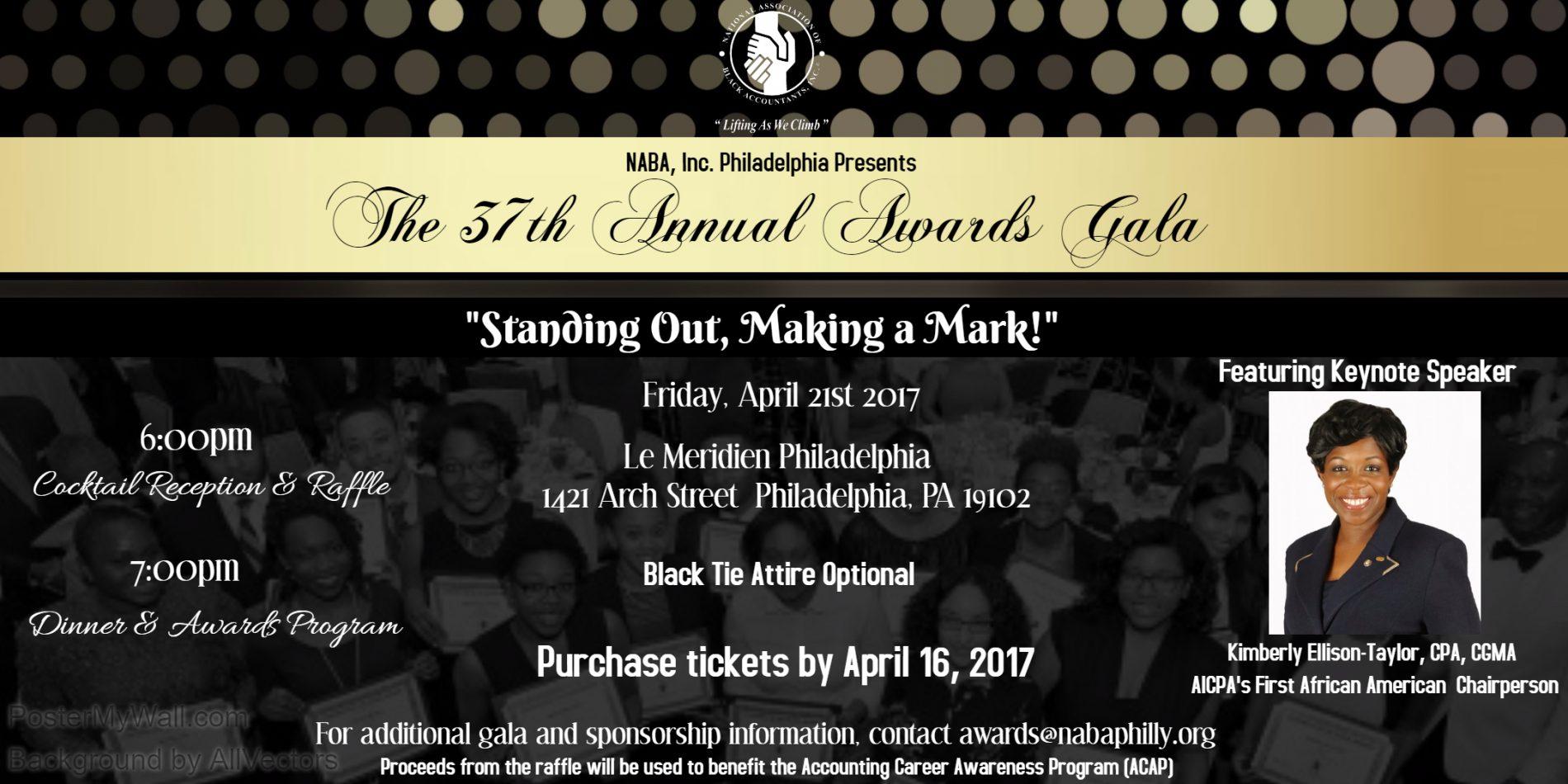 Naba Inc Philadelphia Chapter 187 37th Annual Awards Gala